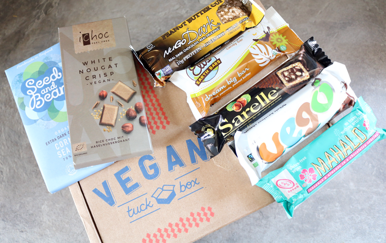 Vegan Tuck Box - The Chocoholic Box review