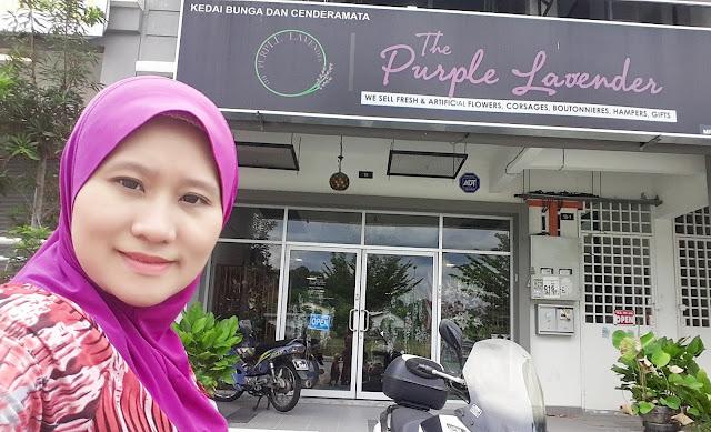Fresh Flowers Bunga Ros Murah di Kedai Bunga The Purple Lavender Kajang Perdana