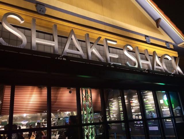 Lanchonete Shake Shack em Orlando