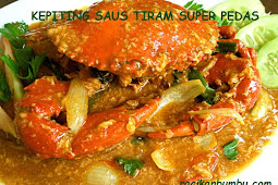 Cara memasak Kepiting Saus Tiram super Pedas dan Nikmat