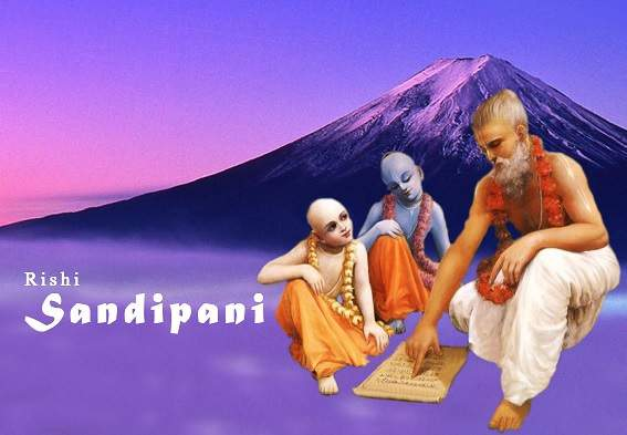 Guru Of Krisna and Balram