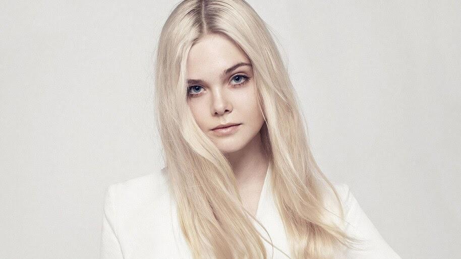 Elle Fanning, Blonde, Photoshoot, 4K, #4.875
