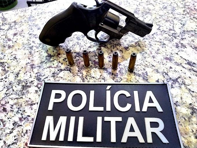 POVOADO OURO - Mais uma prisão por porte ilegal de revólver é registrado em Caxias