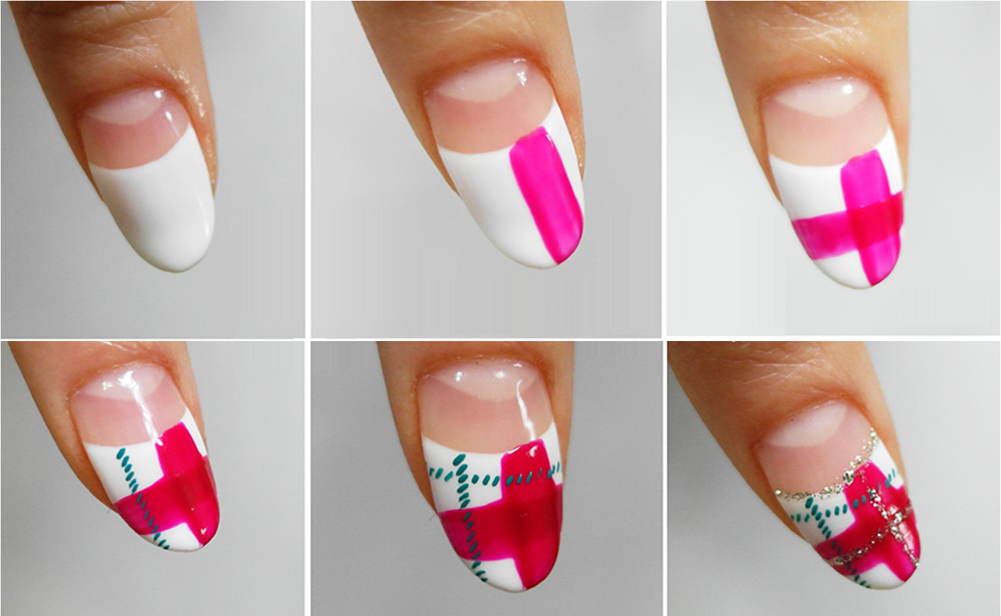 You Can Be An Artist Yourself By Trying The Scottish Pattern Nail Art On Your Own Nails All Have To Do Is Follow Following Steps With Dedication