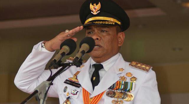 Fahsar Terharu Pimpin Upacara HUT RI ke-72