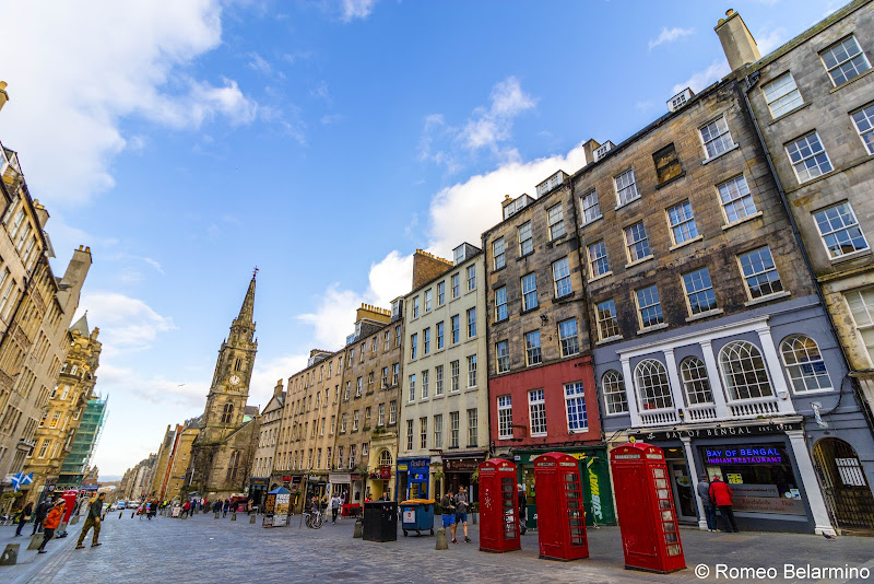 Royal Mile Things to Do in Edinburgh in 3 Days Itinerary