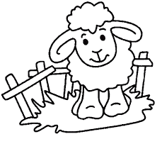 Images Sheep Coloring Pages Ideas For Kids