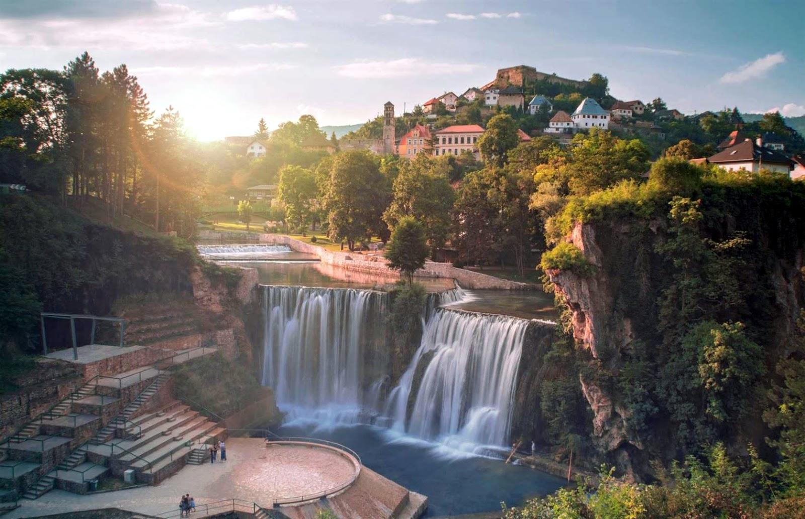 Pliva Waterfall - Waterfall in Bosnia and Herzegovina