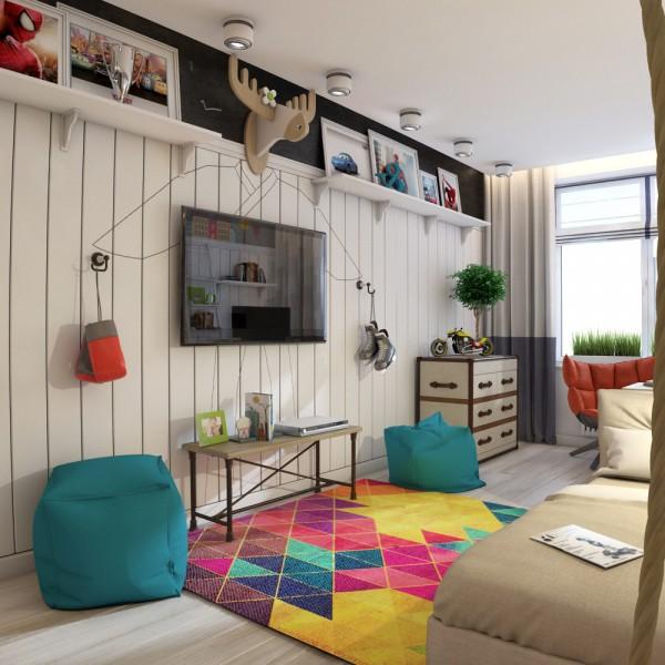 дизайн детской комнаты детей