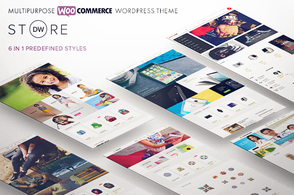 Free Download DW Store V1.0 - Multipurpose WooCommerce Wordpress Theme