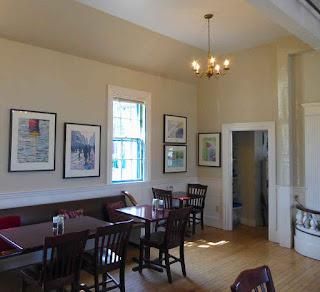 Paul Sherman At Savory Maine - Dining Room