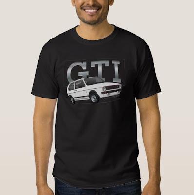 Volkswagen Golf GTI Mk1 t-paita t-shirts