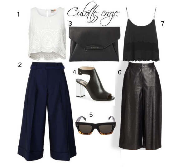 Best culottes shopping Raoul Acne studios