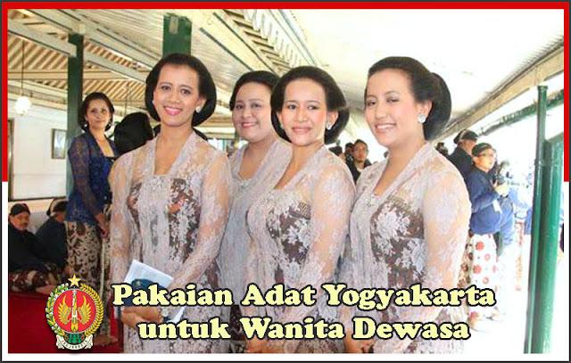 Gambar Pakaian Adat Yogyakarta untuk Wanita Dewasa