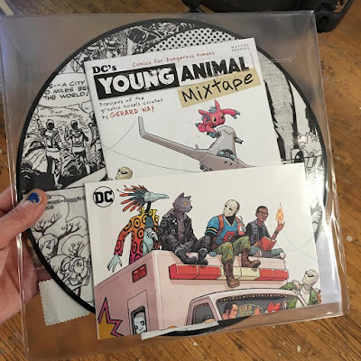 "Record Store Day 2017 Exclusive DC Comics' Young Animal Mixtape ""Into The Cave We Wander"" Vinyl Picture Disc by Gerard Way"