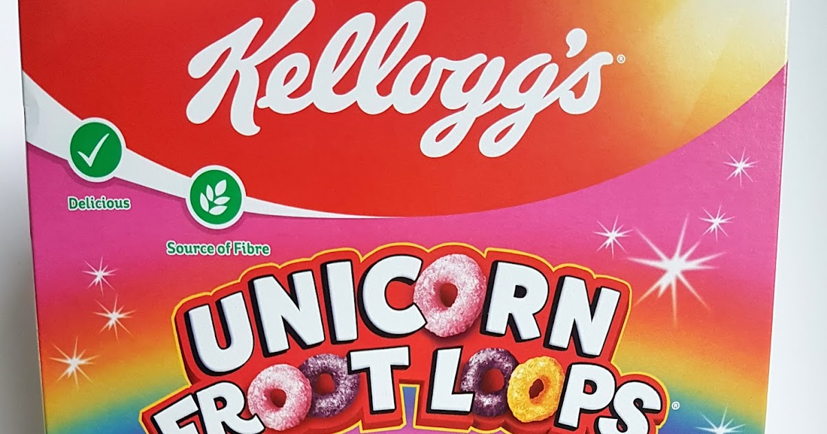 Grocery Gems: New Review: Kellogg's Unicorn Froot Loops