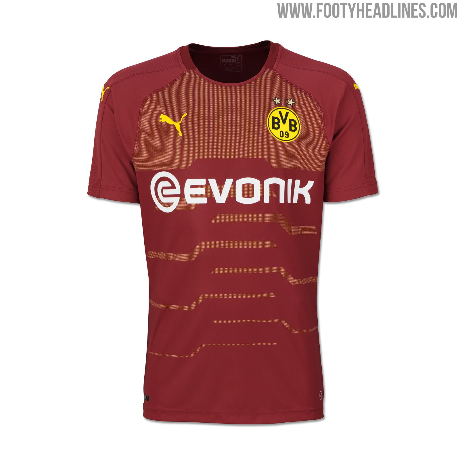 Goalkeeper Template: Dortmund 18-19 Third Kit Launched ...
