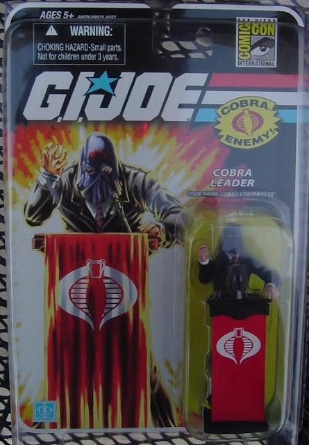 2008 SDCC Cobra Commander, San Diego Comic Con