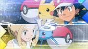 Ash vs Violeta
