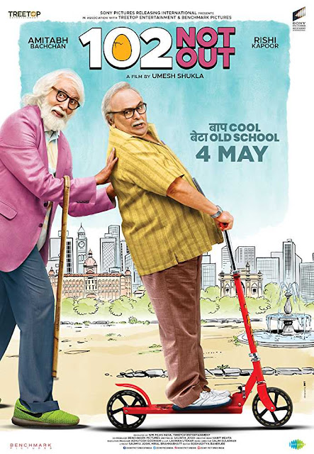 Poster 102 Not Out 2018 Full HD Movie Download Hindi 720p