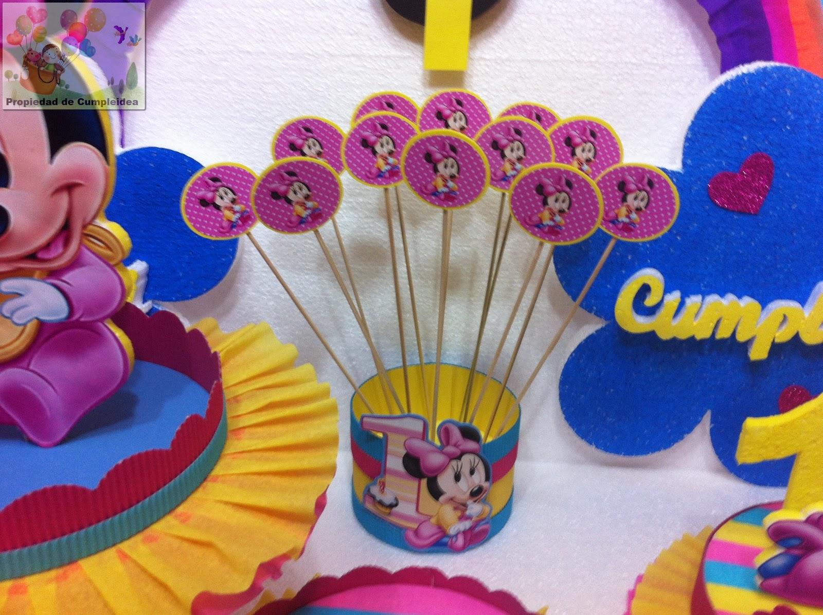 Decoraciones infantiles minnie mouse bebe - Image minnie bebe ...