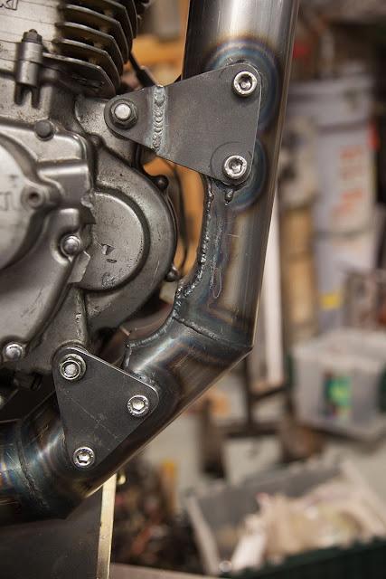 Dirtbag Challenge Suzuki DR Frame Detail