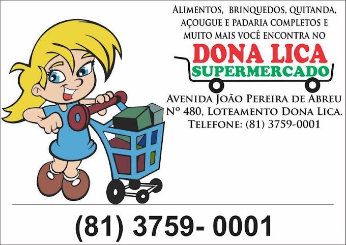 Dona Lica Supermercado, onde você faz suas compras com economia e aproveita as melhores promoções