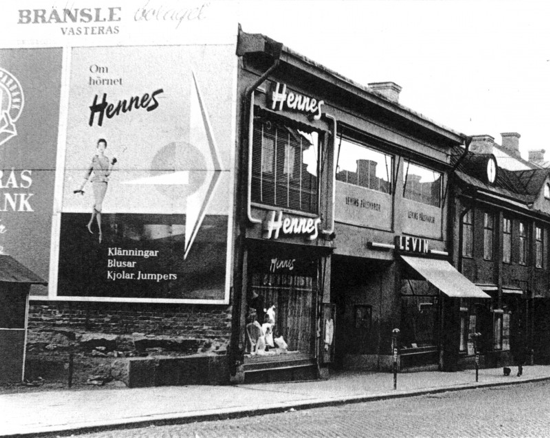 Hennes first store, 1947