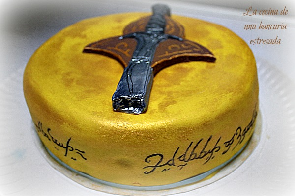 TARTA SEÑOR ANILLOS LORD OF THE RINGS CAKE