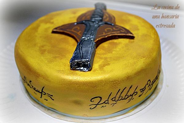 TARTA SEÑOR ANILLOS LORD OF THE RINGS CAKE