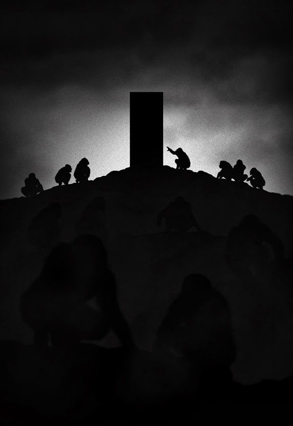 Marko Manev. Noir Series Vol. 2. Films. 2001: A Space Odyssey