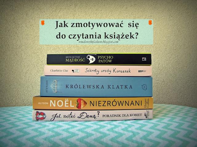 Motywacja do czytania książek