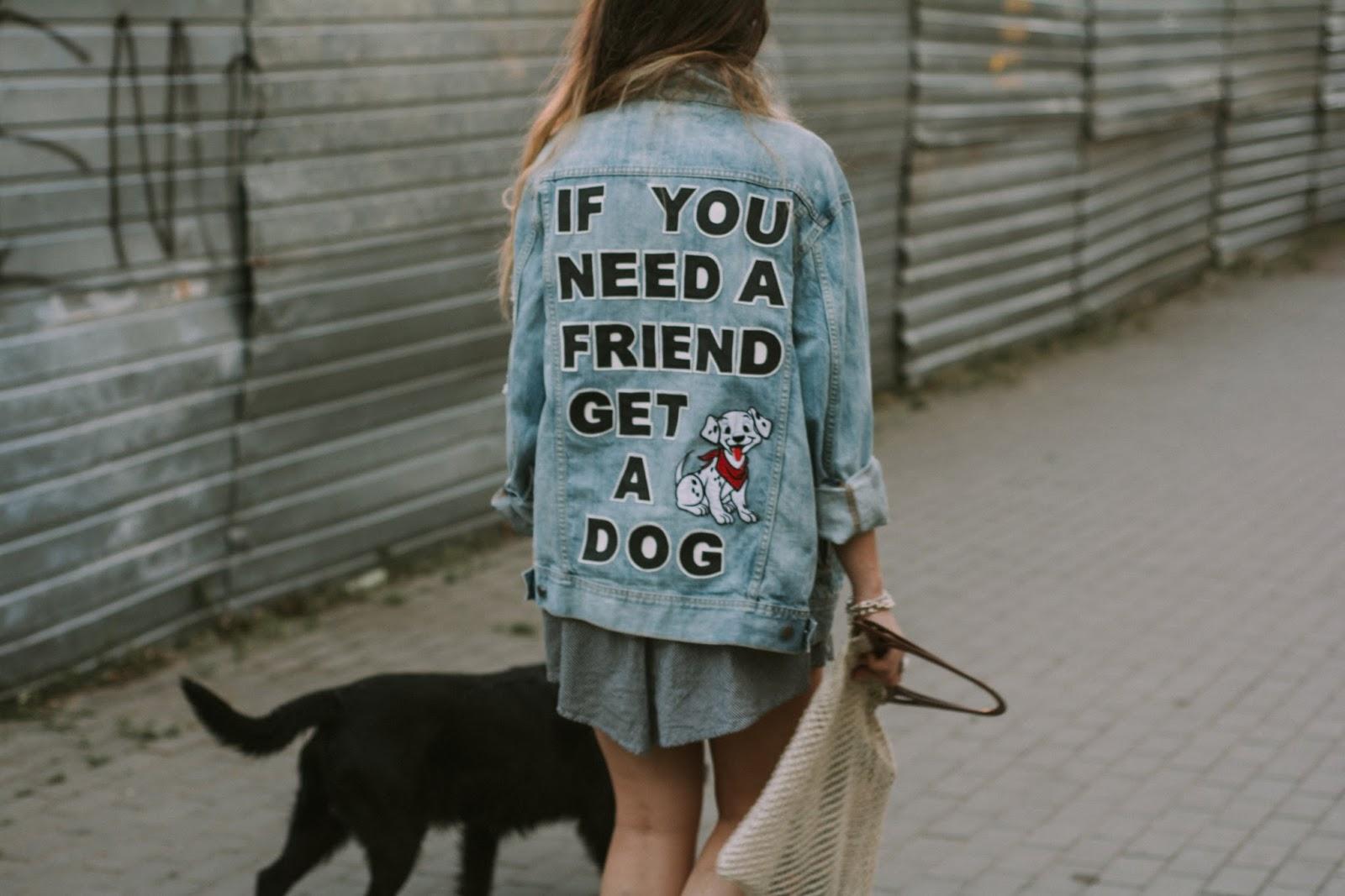handmade denim jacket