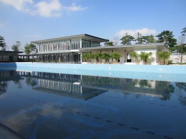 hồ bơi khu đô thị Gamuda