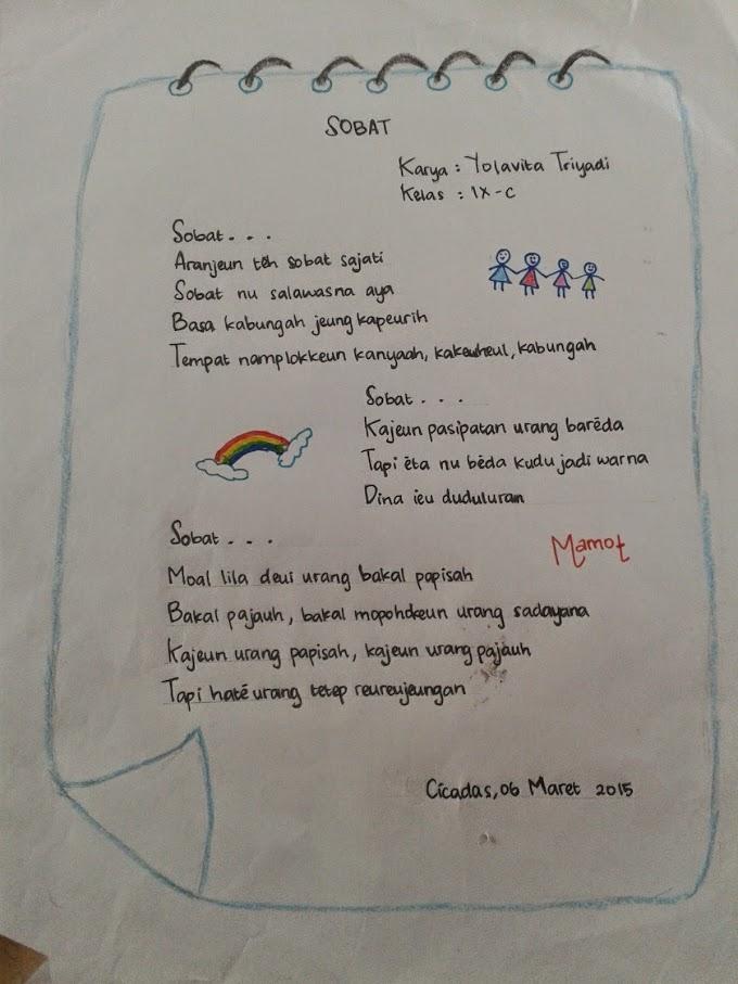 Puisi Bahasa Sunda Untuk Kekasih