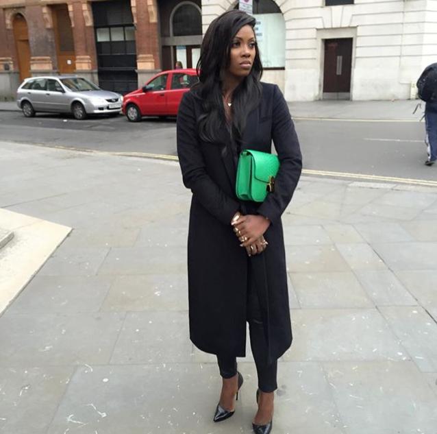Tiwa Savage in London