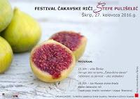 Festivala čakavske riči Štefe Pulišelić, Škrip slike otok Brač Online