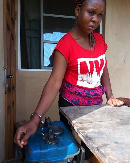 Husband chains wife to generator from from night till the following morning in Ogun