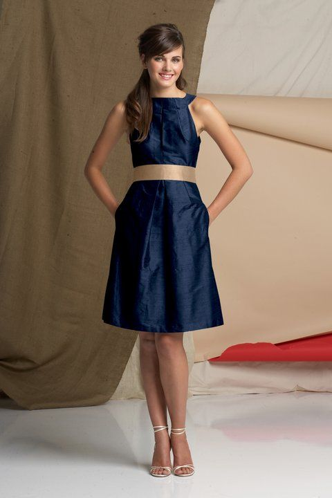 Navy blue guest outfits f211 wedding trend for Navy dresses for weddings