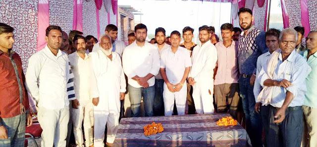 Nilin-hooda-youth-congress-leader-at-madalpur-village-nit-faridabad