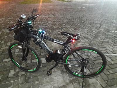 cara merakit sepeda listrik