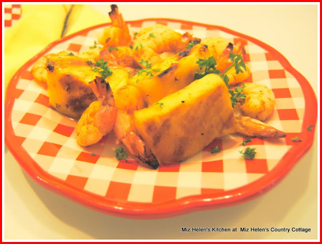 Pineapple Shrimp Ka Bobs at Miz Helen's Country Cottage