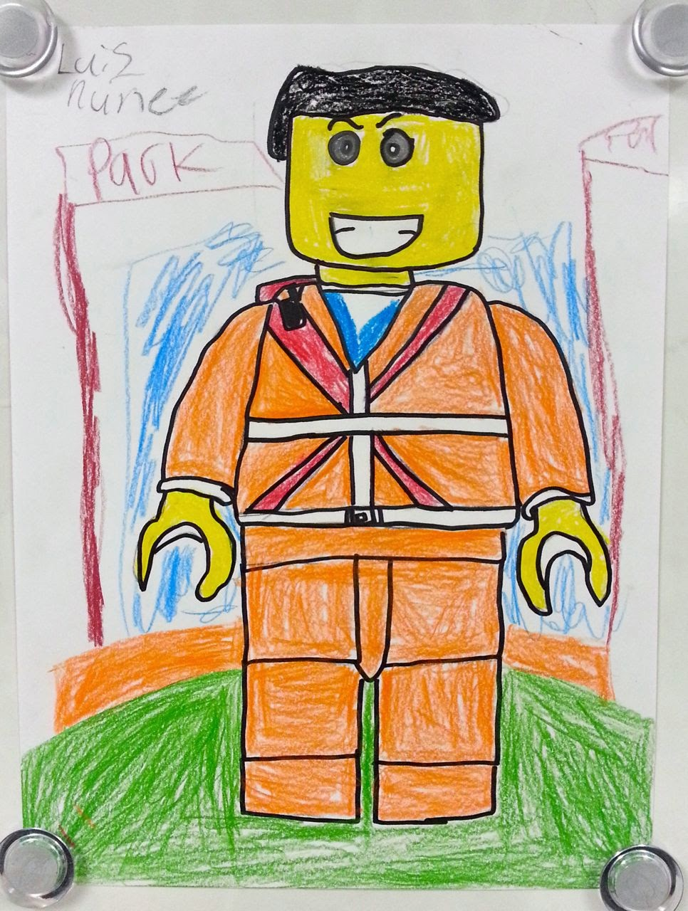 lego style self portraits 3rd 4th art with mrs nguyen