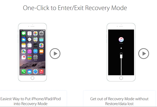 One-Click Enter/Exit Recovery Mode