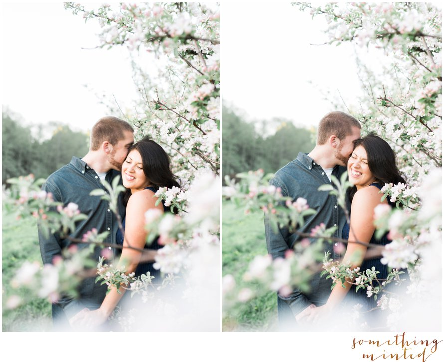 Apple Orchard Engagement Session by Washington Wedding Photographer Something Minted Photography