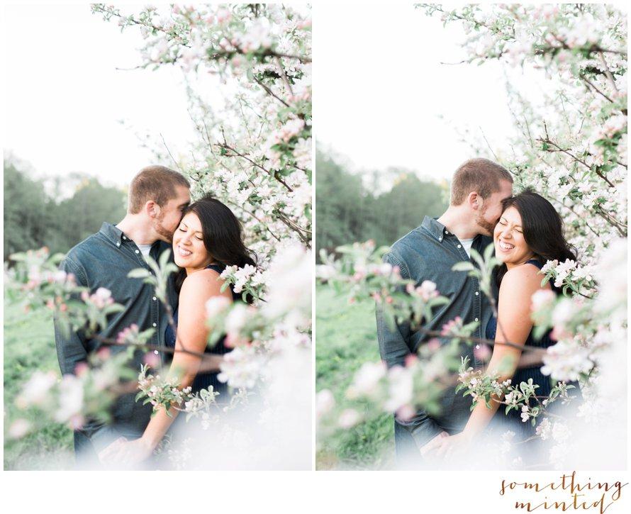 Apple Orchard Engagement Session by Washington Wedding Photographer Something Minted Photography