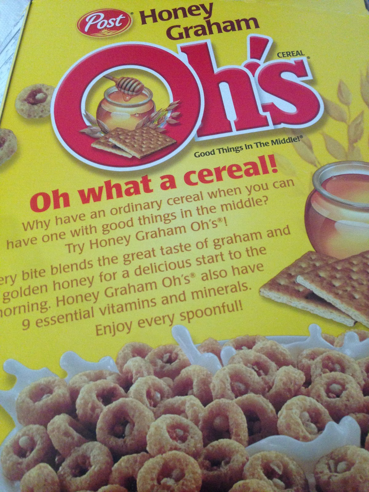Oh my review post honey graham ohs you being cereal overall i really enjoy post honey graham ohs im not quite sure about their claim good things in the middle personally i see some circular sprinkles ccuart Choice Image