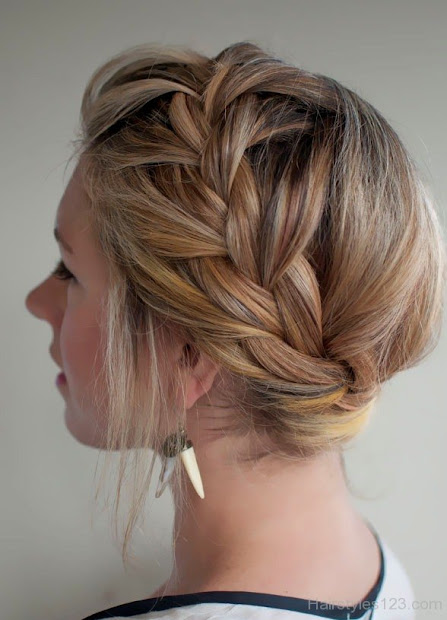 intricate french plait hairstyles