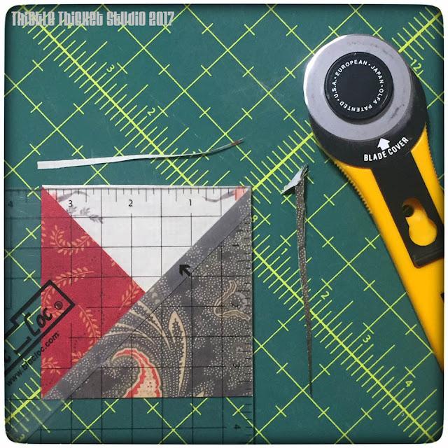 thistle thicket studio, bloc-loc ruler, bloc lock ruler, double pinwheel blocks, sewing, quilting