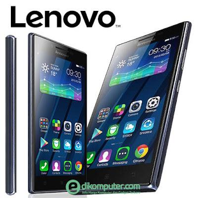 Harga dan Spesifikasi  Smartphone merek Lenovo P70 terbaru 2016